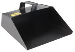 Product image for Black metal dust pan