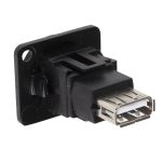 Product image for FT BLK METAL USB 2.0 A-A CSK XLR