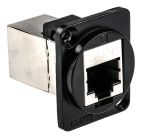 Product image for FT BLK METAL CAT5e SHIELD CSK XLR