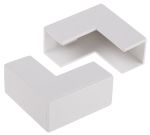 Product image for Wht PVC external angle-16x16mm trunking