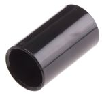 Product image for Blk PVC straight coupler for conduit20mm