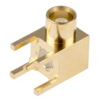 Product image for MCX R/A PCB Mount Jack Receptacle