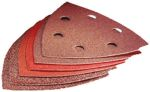 Product image for Sanding Sheet 10pc Delta93 Red Wood
