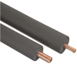 Product image for 22mm Pipe Insulation, 25mm x 2m, Rubber
