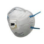 Product image for FFP2 8822 valved dust/mist respirator
