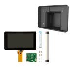 Product image for Bundle - Pi Touchscreen and Black Case
