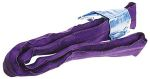Product image for 1t 5mt CIRC. ROUNDSLING VIOLET EWL 2.5mt