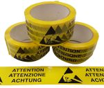 Product image for Packing tape in 3 Languages 66m