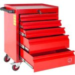 Product image for 5 Drawer Cabinet with 160pcs tool set