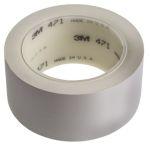 Product image for White Vinyl Lane Marking Tape,25mmx33m