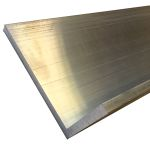 Product image for RS PRO 100mm x 50mm x 10mm Aluminium Angle