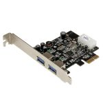 Product image for 2 port PCIe SuperSpeed USB 3.0 Card