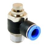 Product image for Elbow Flow Regulator 4 mm M5