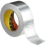 Product image for 3M Aluminium 1436 Silver 100mm x 50m