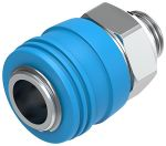 Product image for KD4-1/4-A quick coupling socket