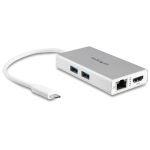 Product image for USB C Multiport Adapter - Aluminum - Pow