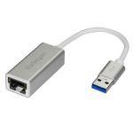 Product image for USB 3.0 to Gigabit Network Adapter - Sil