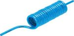 Product image for PUN-4X0,75-S-1-BL spiral plastic tubing