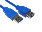 Product image for 1mtr USB 3.0 A M - A F Extension Cable -