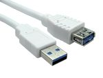 Product image for 1.8mtr USB 3.0 A M - A F Extension Cable