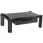 Product image for Monitor Riser with Drawer - Height Adjus