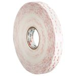 Product image for Acrylic Foam Tape, 19mm, White