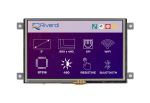 Product image for Riverdi RVT50AQEFWR00 TFT LCD Colour Display / Touch Screen, 5in, 800 x 480