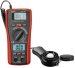 Product image for RS PRO Solar Power Meter & Digital Multimeter DT-1307