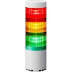 Product image for Patlite LR6-USB LED Signal Tower With Buzzer, 3 Light Elements, Coloured, 5V DC (USB-bus power)