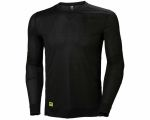 Product image for Helly Hansen HH Lifa Black T-Shirt, UK- M, EUR- M Polyester
