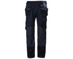 Product image for Helly Hansen Oxford Navy Cotton, Elastane, Polyester Trousers Waist Size 36in