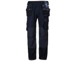 Product image for Helly Hansen Oxford Black Cotton, Elastane, Polyester Trousers Waist Size 30in