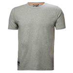 Product image for Helly Hansen Chelsea Evolution Grey T-Shirt, UK- M, EUR- M Cotton