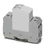 Product image for 1 Phase Industrial Surge Protector, 10kA, 350 V, DIN Rail Mount