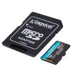 Product image for Kingston 64 GB MicroSDXC Card Class 10