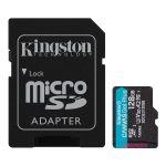 Product image for Kingston 128 GB MicroSDXC Card Class 10
