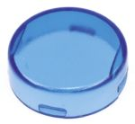 Product image for Round Blue Lens for A01 Series Operator