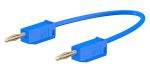 Product image for 300mm blue standard test lead,2mm plug