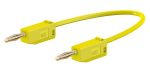 Product image for 300mm yellow standard test lead,2mm plug