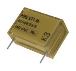 Product image for PME271M capacitor,100nF 275Vac