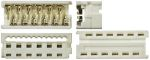 Product image for 18 way IDT housing,1.27mm pitch low prof