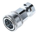 Product image for 3/8in BSPP quick action female coupling
