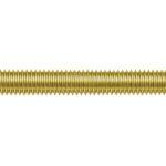Product image for Self colour brass studding,M10 1m L