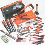 Product image for Bahco electricians tool kit