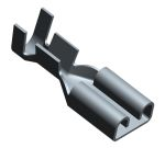 Product image for Receptacle terminal,FASTON 187,AWG 20-16