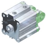 Product image for Compact Cylinder, CQS 25mm/25mm