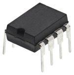 Product image for CURRENT MODE PWM CONTROLLER, 1A, PDIP8