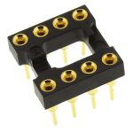 Product image for IC Socket DIP8 2.54mm