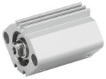Product image for SMC Pneumatic Compact Cylinder 16mm Bore, 10mm Stroke, CQ2 Series, Double Acting