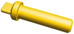 Product image for Sealing plug 16AWG yellow AmpSeal 16
